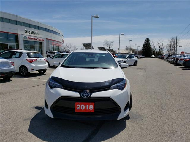2018 Toyota Corolla LE (Stk: 180627) in Whitchurch-Stouffville - Image 2 of 12