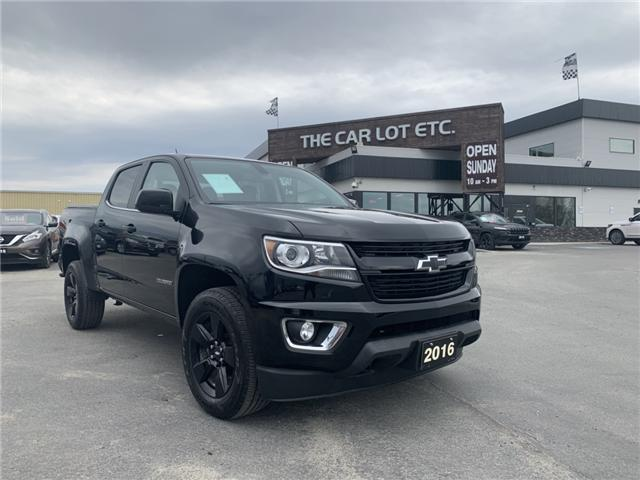 2016 Chevrolet Colorado LT (Stk: 19208) in Sudbury - Image 1 of 14