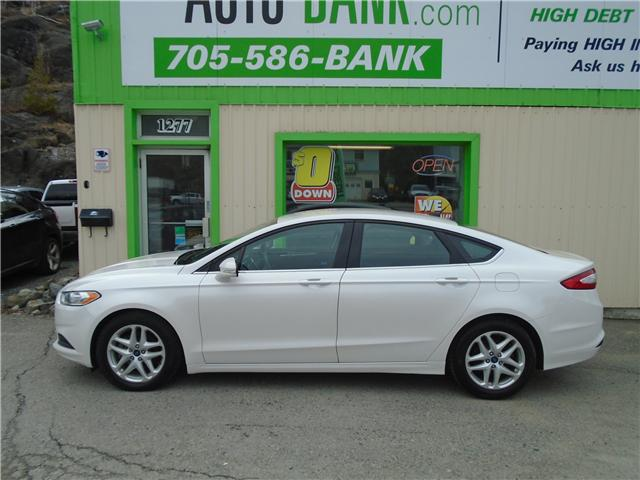 2015 Ford Fusion SE (Stk: ) in Sudbury - Image 1 of 6