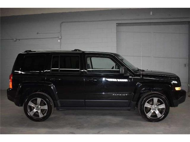 2017 Jeep Patriot HIGH ALTITUDE  4X4 - HTD SEATS * SUNROOF * LEATHER (Stk: B3806) in Cornwall - Image 1 of 28