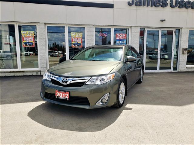 2012 Toyota Camry XLE (Stk: N19185A) in Timmins - Image 1 of 11