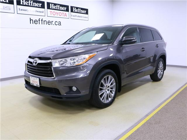 2015 Toyota Highlander XLE (Stk: 195241) in Kitchener - Image 1 of 31