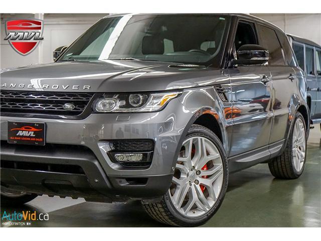 2014 Land Rover Range Rover Sport V8 Supercharged (Stk: ) in Oakville - Image 1 of 38