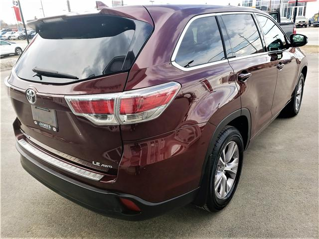 2016 Toyota Highlander LE (Stk: P02596) in Timmins - Image 3 of 11