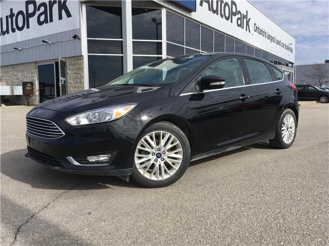 2018 Ford Focus Titanium (Stk: 18-53232RJB) in Barrie - Image 1 of 28