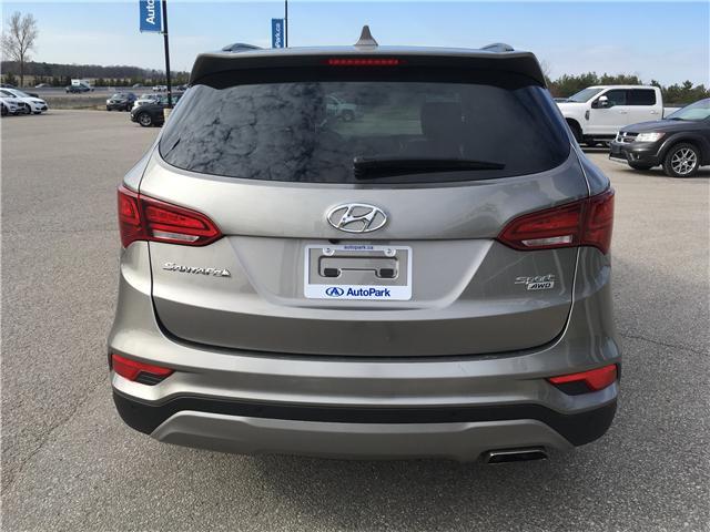 2018 Hyundai Santa Fe Sport 2.4 SE (Stk: 18-60821RJB) in Barrie - Image 6 of 28
