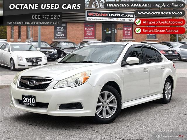 2010 Subaru Legacy 2.5 i Sport Package (Stk: ) in Scarborough - Image 1 of 23