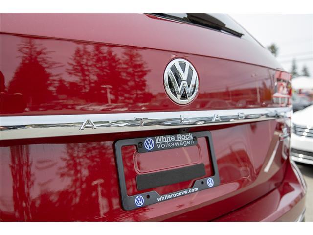 2019 Volkswagen Atlas 3.6 FSI Highline (Stk: KA520856) in Vancouver - Image 10 of 30
