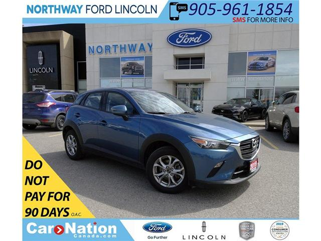 2019 Mazda CX-3 GS | AWD | HTD SEATS/WHEEL | BACK UP CAM | (Stk: DR179) in Brantford - Image 1 of 39