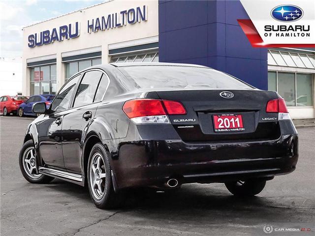 2011 Subaru Legacy 2.5 i Limited Package (Stk: U1421A) in Hamilton - Image 4 of 25