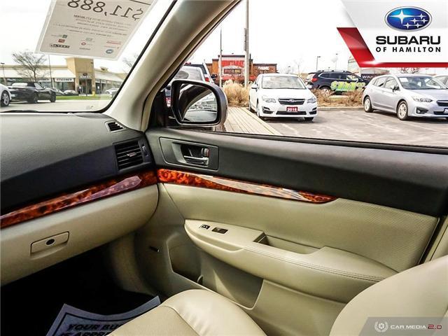 2011 Subaru Legacy 2.5 i Limited Package (Stk: U1421A) in Hamilton - Image 18 of 25