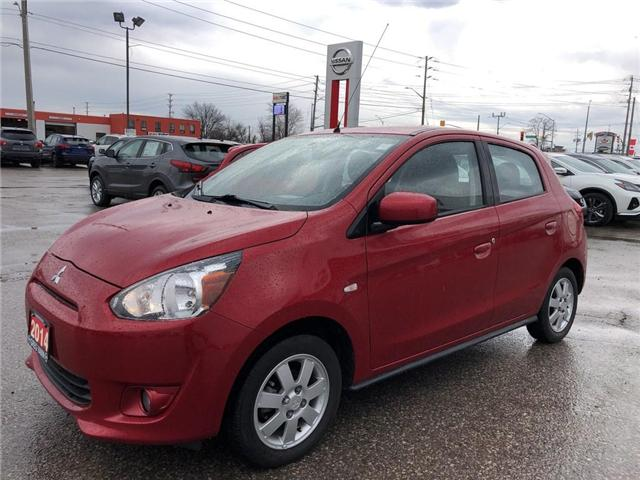 2014 Mitsubishi Mirage SE (Stk: U0804A) in Cambridge - Image 2 of 26
