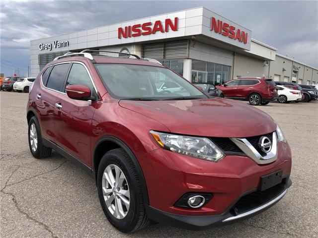 2015 Nissan Rogue SV (Stk: P2590) in Cambridge - Image 1 of 28