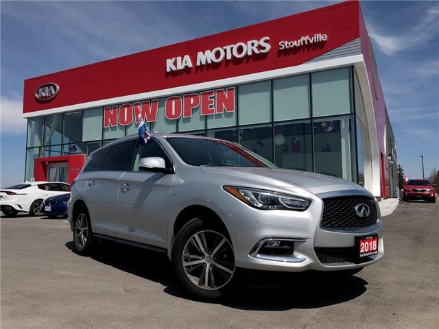 2018 Infiniti QX60 Base (Stk: P0011) in Stouffville - Image 1 of 28