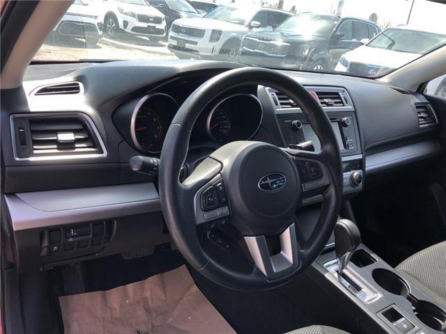 2016 Subaru Outback 2.5i (Stk: P0018) in Stouffville - Image 9 of 23