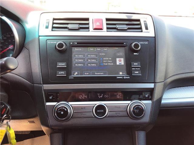 2016 Subaru Outback 2.5i (Stk: P0018) in Stouffville - Image 15 of 23