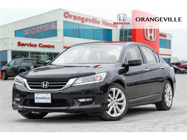 2014 Honda Accord Touring V6 (Stk: V19145A) in Orangeville - Image 1 of 22