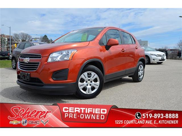 2016 Chevrolet Trax LS (Stk: 196440A) in Kitchener - Image 1 of 9