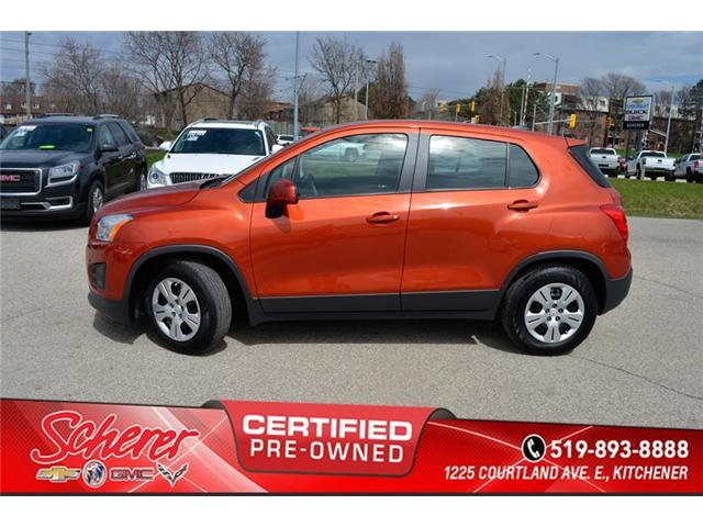 2016 Chevrolet Trax LS (Stk: 196440A) in Kitchener - Image 2 of 9