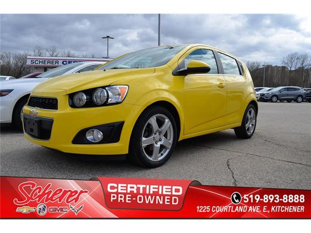 2015 Chevrolet Sonic LT Auto (Stk: 590380) in Kitchener - Image 1 of 3