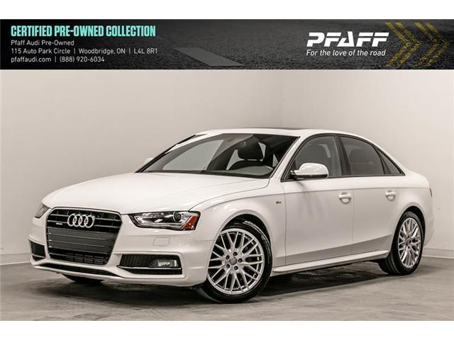 2015 Audi A4 2.0T Komfort (Stk: C6655) in Woodbridge - Image 1 of 22