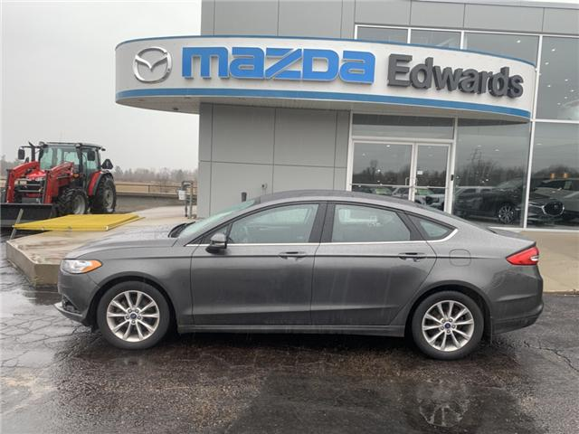 2017 Ford Fusion SE (Stk: 21735) in Pembroke - Image 1 of 9