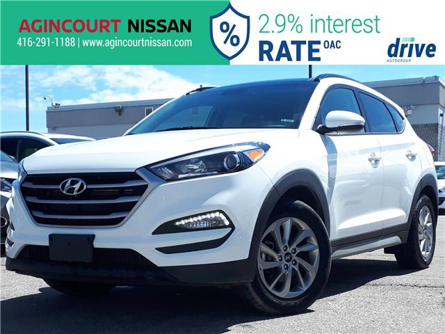 2018 Hyundai Tucson SE 2.0L (Stk: U12482R) in Scarborough - Image 1 of 27