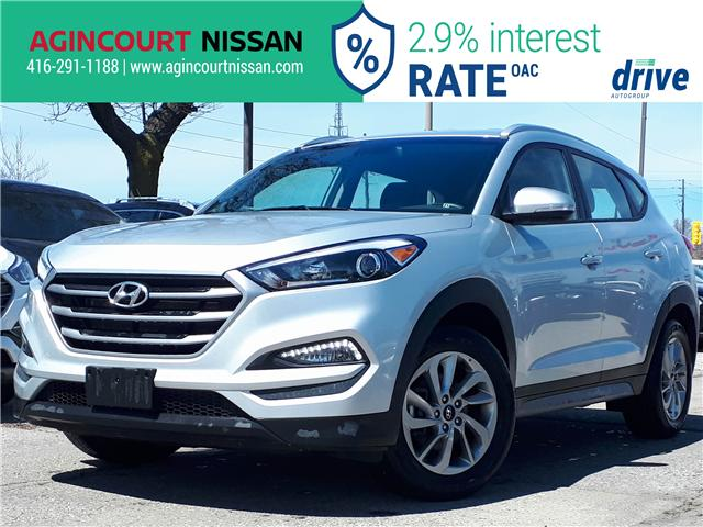 2018 Hyundai Tucson Premium 2.0L (Stk: U12481R) in Scarborough - Image 1 of 27
