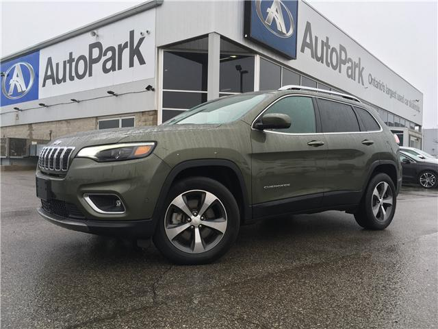 2019 Jeep Cherokee Limited (Stk: 19-52252MB) in Barrie - Image 1 of 29