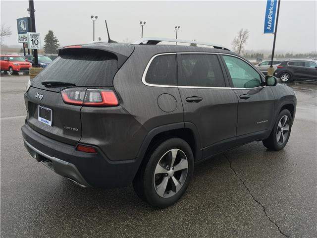 2019 Jeep Cherokee Limited (Stk: 19-52309) in Barrie - Image 5 of 29
