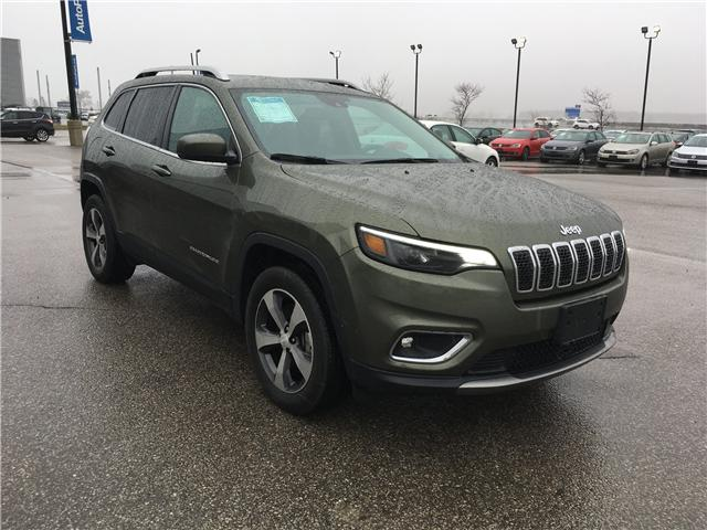 2019 Jeep Cherokee Limited (Stk: 19-52252MB) in Barrie - Image 3 of 29