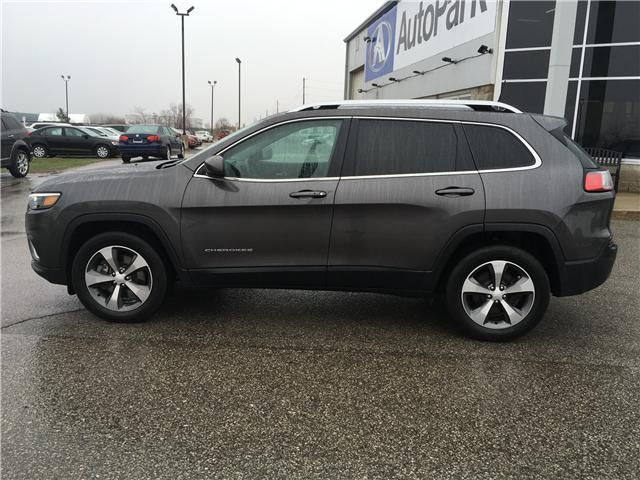 2019 Jeep Cherokee Limited (Stk: 19-52309) in Barrie - Image 8 of 29