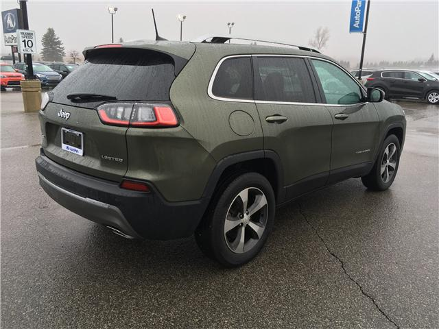 2019 Jeep Cherokee Limited (Stk: 19-52252MB) in Barrie - Image 5 of 29