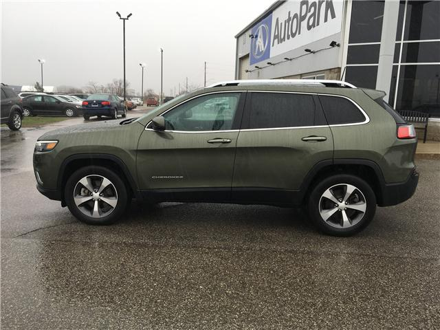 2019 Jeep Cherokee Limited (Stk: 19-52252MB) in Barrie - Image 8 of 29