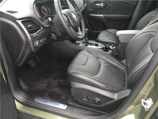 2019 Jeep Cherokee Limited (Stk: 19-52252MB) in Barrie - Image 13 of 29