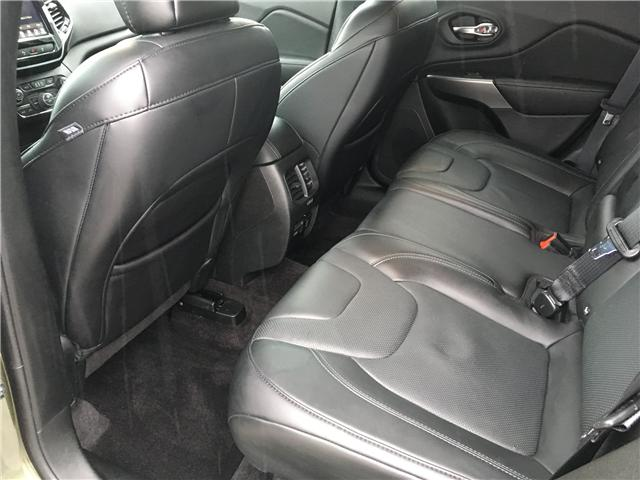 2019 Jeep Cherokee Limited (Stk: 19-52252MB) in Barrie - Image 15 of 29