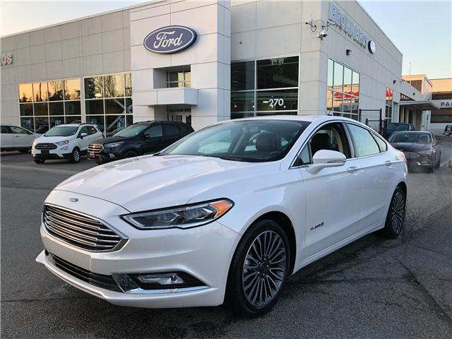 2018 Ford Fusion Hybrid Titanium (Stk: RP19147) in Vancouver - Image 1 of 24