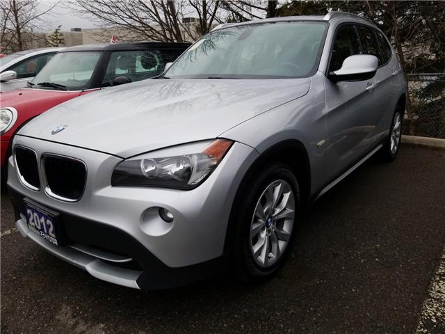 2012 BMW X1 xDrive28i (Stk: 38993AA) in Mississauga - Image 1 of 10