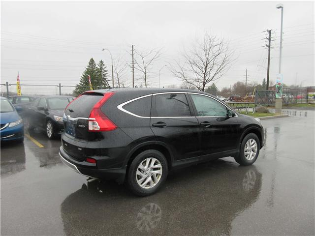 2016 Honda CR-V SE (Stk: 26722L) in Ottawa - Image 3 of 11