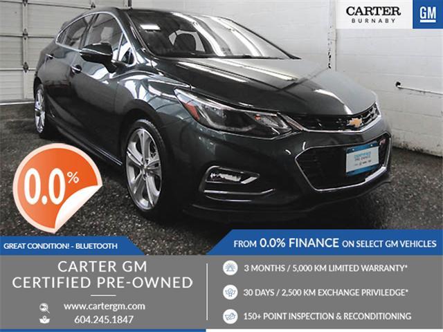 2018 Chevrolet Cruze Premier Auto (Stk: P9-58050) in Burnaby - Image 1 of 23