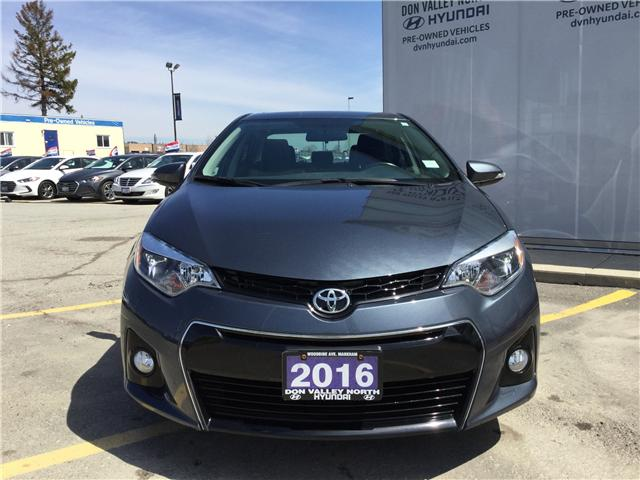 2016 Toyota Corolla S (Stk: 7675H) in Markham - Image 2 of 12