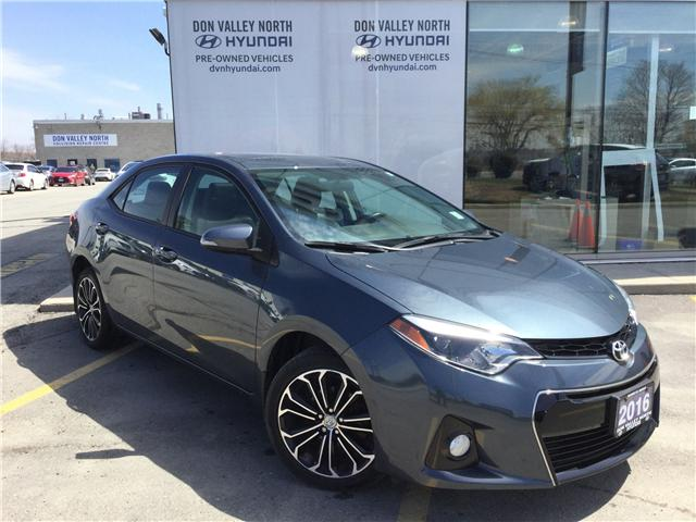 2016 Toyota Corolla S (Stk: 7675H) in Markham - Image 1 of 12