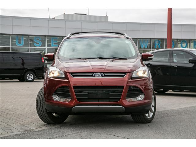 2016 Ford Escape TITANIUM 45,000 KMS-NAV-AWD-LEATHER (Stk: 949040) in Ottawa - Image 2 of 28