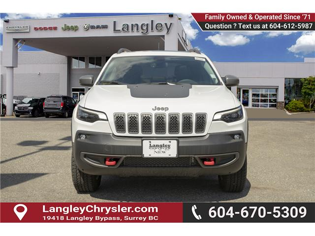 2019 Jeep Cherokee Trailhawk (Stk: K384708) in Surrey - Image 2 of 26