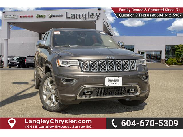 2019 Jeep Grand Cherokee Overland (Stk: K680428) in Surrey - Image 1 of 22