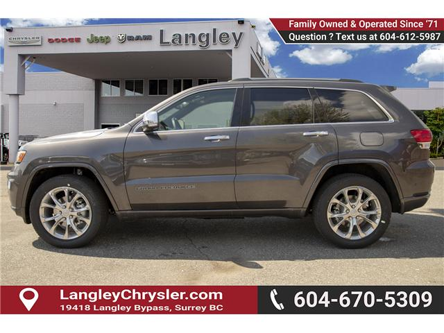 2019 Jeep Grand Cherokee Overland (Stk: K680428) in Surrey - Image 4 of 22