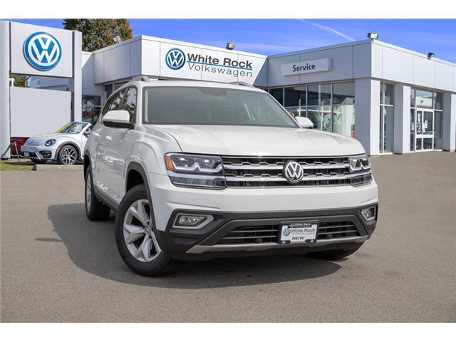 2018 Volkswagen Atlas 3.6 FSI Highline (Stk: JA565118) in Vancouver - Image 1 of 30