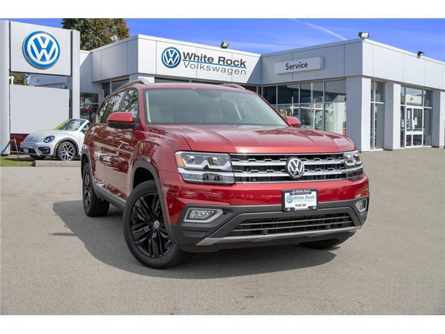 2019 Volkswagen Atlas 3.6 FSI Highline (Stk: KA520856) in Vancouver - Image 1 of 30