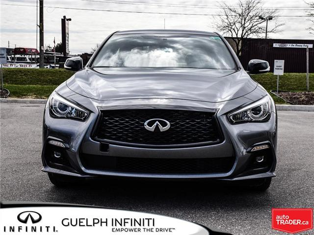 2019 Infiniti Q50 3.0t I-LINE RED SPORT (Stk: I6938) in Guelph - Image 2 of 23