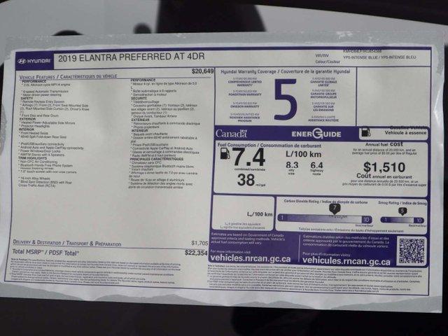 2019 Hyundai Elantra Preferred (Stk: 119-110) in Huntsville - Image 33 of 33